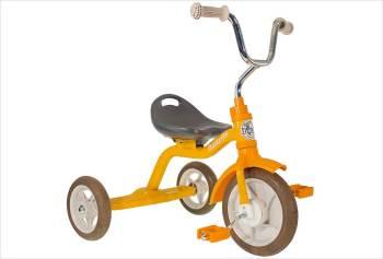 Tricycle orange en métal Italtrike