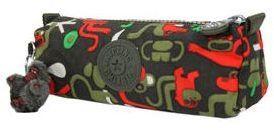 Trousse Kipling 50 Pens Monkey Frnds Kh vert OI3KT