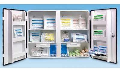 Armoire à pharmacie conforme