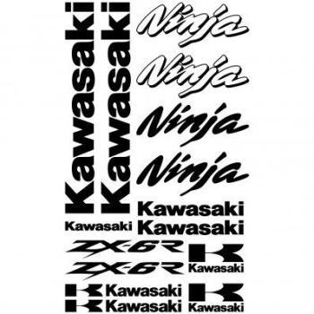 Stickers Kawasaki ninja ZX-6r