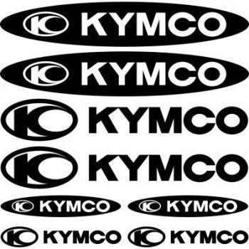 Kit stickers kymco