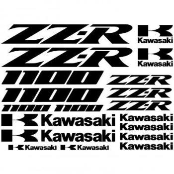 Stickers Kawasaki zz-r 1100