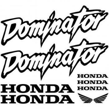 Stickers Honda dominator