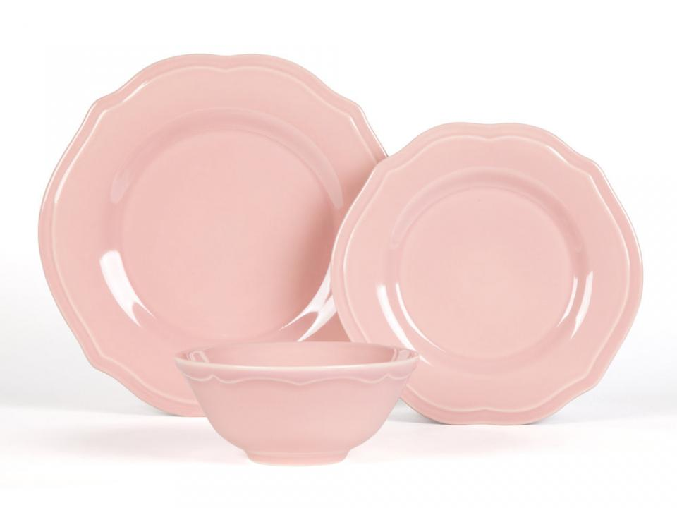 assiette plate 27cm x10 fushia. Black Bedroom Furniture Sets. Home Design Ideas