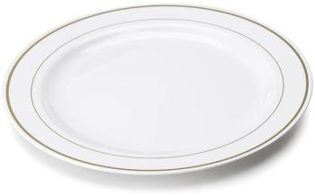 20 assiettes en plastique