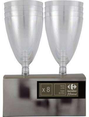 Verres à vin 15cl transparents
