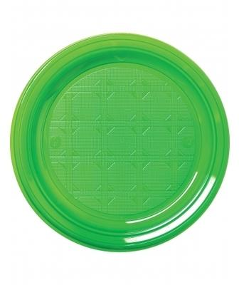 50 Petites assiettes en plastique