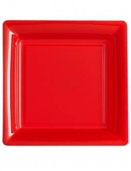 12 Petites assiettes carrées