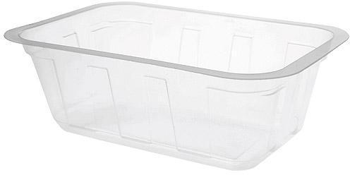 Barquette plastique TMF transparente