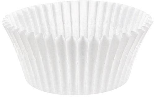 Caissette plissée ronde papier
