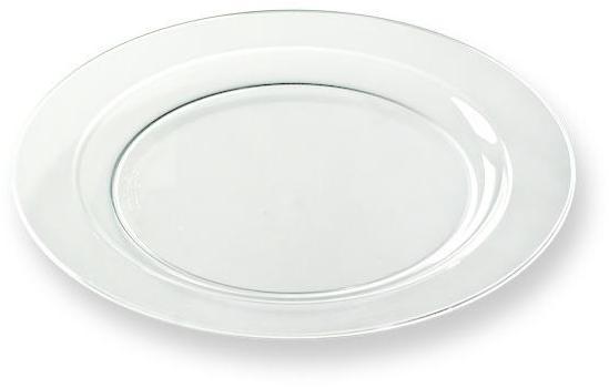 12 assiettes en plastique
