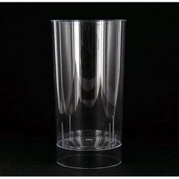 10 verres en plastique rigide