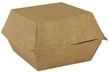 Boîte hamburger en carton