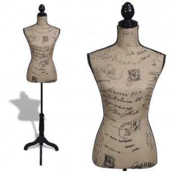VidaXL Buste de couture Mannequin