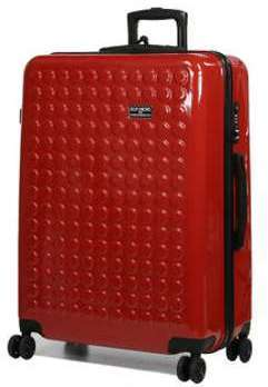 Valise cabine rigide Dot Drops Chapter 2 - 55 cm Rouge SIvAOA