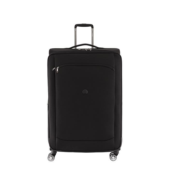 delsey valise trolley rigide 4 roues 69 cm gris synt. Black Bedroom Furniture Sets. Home Design Ideas