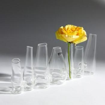 Vase 7 Cones Chaîne transparent