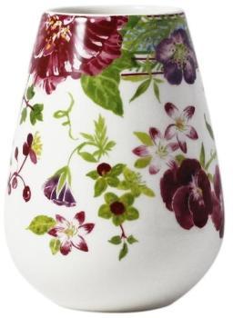 Vase en faïence forme bulbe