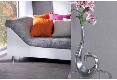 Vase décoratif 50 cm en boucle