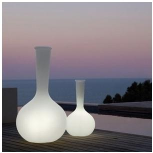 Vase Vondom lumineux