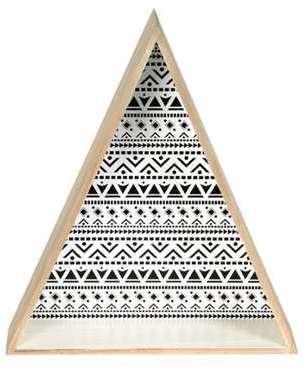 Lot de 2 étagères triangle