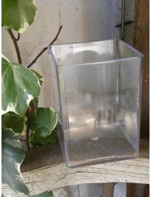 Accessoires Vase carré dim