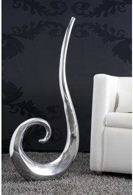 Soldes - Vase moderne argenté