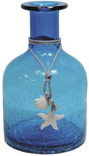 Vase petite bouteille en verre
