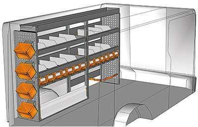 Kit aménagement Trafic L2