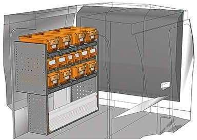 Kit aménagement Nemo métallique
