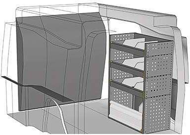 Kit aménagement Partner métallique