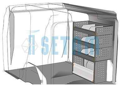 Kit aménagement Combo utilitaire