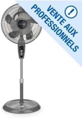 Ventilateur sur pied télescopique