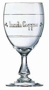 Verre à cocktail irish coffee