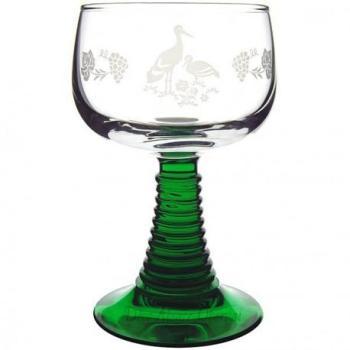 6 verres Alsace roemer cigogne