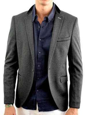 Veste costume homme grise