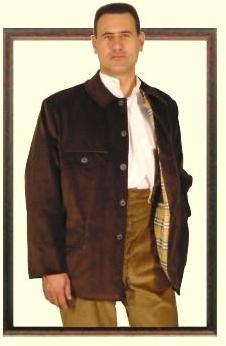 Vareuse (veste) noire velours