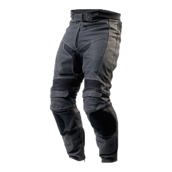 Pantalon moto cuir warmup