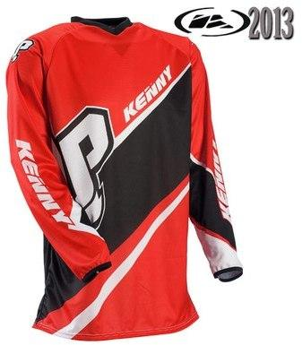 Maillot Trial Kenny Up Rouge