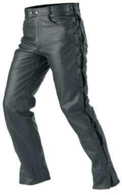 Pantalon Femme cuir moto Buse