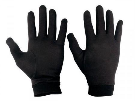 Sous-gants Chaft Soie Noir