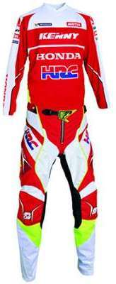 Tenue Cross Honda HRC Titanium