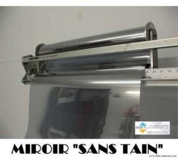 Film adhesif miroir sans tain