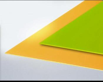 Verre synthétique fluo Vert