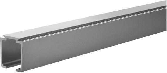 Rail aluminium - 3 m - SAF