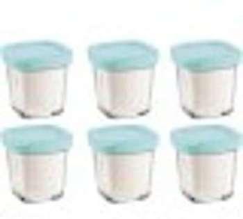 Pots yaourt avec égouttoir