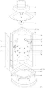 hansgrohe barre de douche raindance e 120 unica s 3 jets. Black Bedroom Furniture Sets. Home Design Ideas