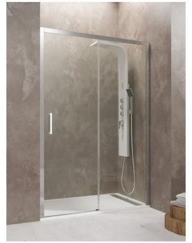 Catgorie accessoire douche page 15 du guide et comparateur d 39 achat - Paroi douche coulissante 140 ...