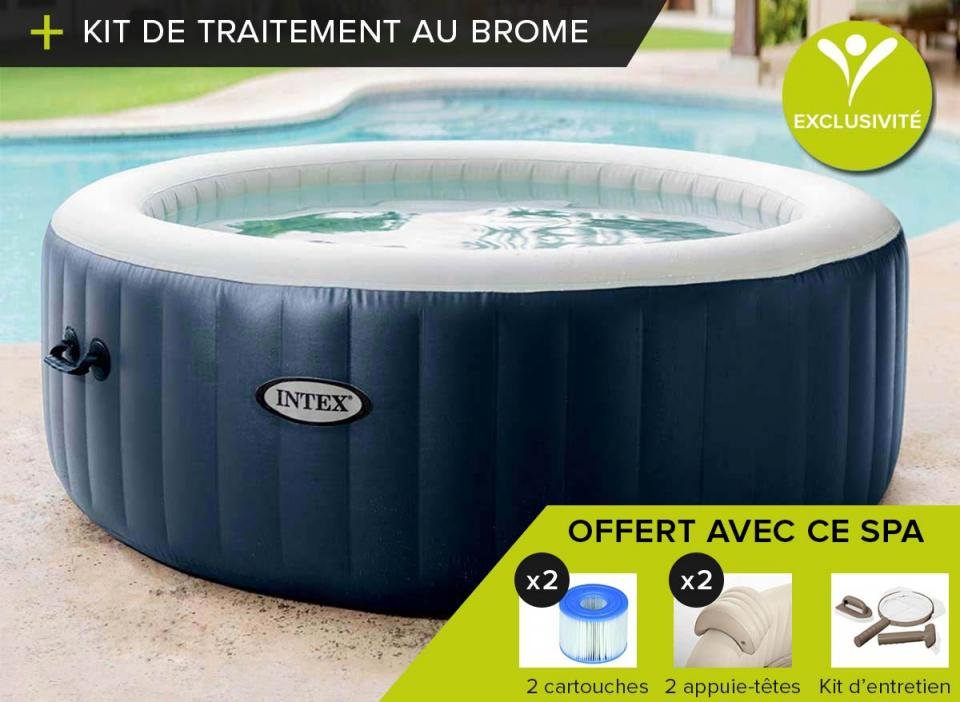 Reparer fuite spa gonflable free affordable jacuzzi for Reparer piscine intex tubulaire
