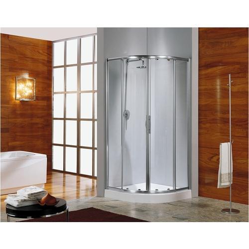Leda ccabine de douche 1 4 de rond izibox porte coulis - Paroi de douche quart de rond ...